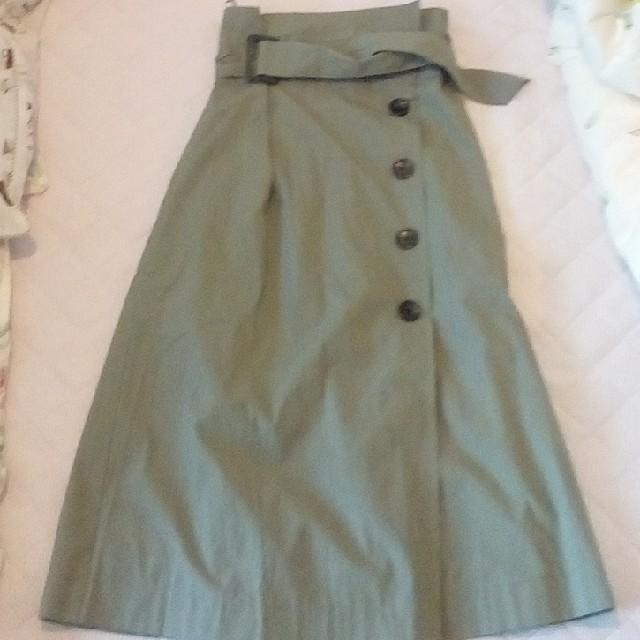 しまむら(シマムラ)のトレンチスカート レディースのスカート(ひざ丈スカート)の商品写真