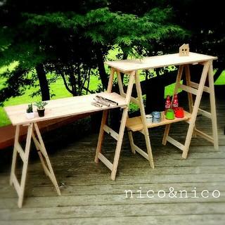 キャンプ キッチン ラック(テーブル/チェア)