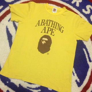 アベイシングエイプ(A BATHING APE)のA BATHING APE キッズ Tシャツ(Tシャツ/カットソー)