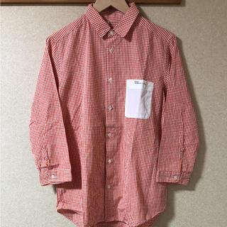 エフィレボル(.efiLevol)のefiLevol. 七分袖ギンガムチェックシャツ(シャツ)