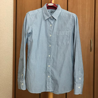 ムジルシリョウヒン(MUJI (無印良品))のピンストライプシャツ  (シャツ/ブラウス(長袖/七分))