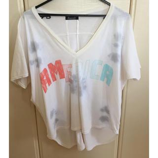 アメリカーナ(AMERICANA)のSignorelli シグノレリ AMERICA Tシャツ カットソー(Tシャツ(半袖/袖なし))