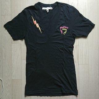 """アメリカンアパレル(American Apparel)のヌメロウーノ 刺繍入り 深Vネック Tシャツ""""値下げしました""""(その他)"""