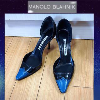 マノロブラニク(MANOLO BLAHNIK)のマノロブラニク サンダル パンプス 371/2(ハイヒール/パンプス)
