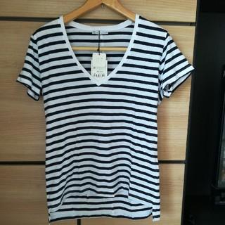 ザラ(ZARA)のみー様専用☆ZARA VネックTシャツMサイズ(Tシャツ(半袖/袖なし))