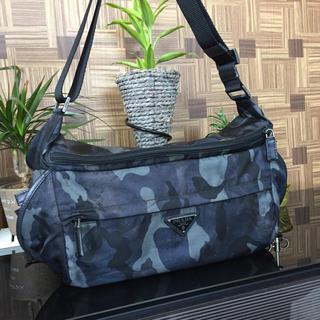 プラダ(PRADA)のPRADA カモフラ カモフラージュ メッセンジャー ショルダー(メッセンジャーバッグ)