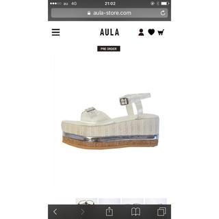 アウラアイラ(AULA AILA)のアウラ靴(サンダル)