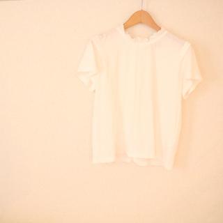 カスタネ(Kastane)のフリルハイネックTシャツ ベスト(シャツ/ブラウス(半袖/袖なし))