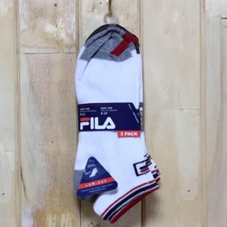フィラ(FILA)の★★SALE★FILA NO SOCKS 3packs(ソックス)