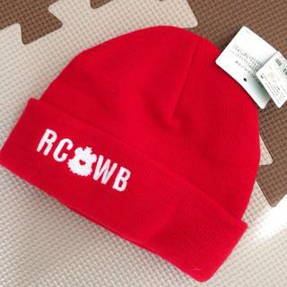 ロデオクラウンズワイドボウル(RODEO CROWNS WIDE BOWL)のロデオクラウンズ キッズ ニット帽(その他)