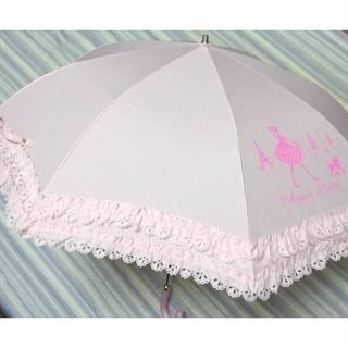 アンジェリックプリティー(Angelic Pretty)の★AngelicPretty 折りたたみ傘(ピンク)(傘)