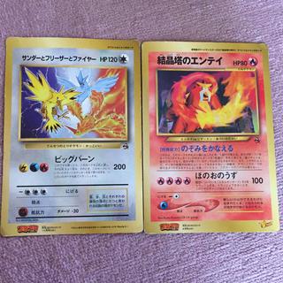 ニンテンドウ(任天堂)のスペシャルジャンボカード 2枚(カード)