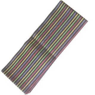 3271 半幅帯 ストライプ柄 リメイク素材にも(浴衣帯)
