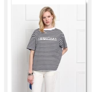 アメリカーナ(AMERICANA)のアメリカーナボーダーT アクアガール別注(Tシャツ(半袖/袖なし))