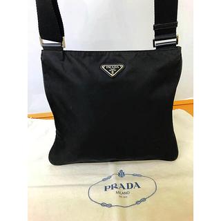 プラダ(PRADA)の鑑定済み 正規品 プラダ PRADA ショルダーバッグ ブラック(ショルダーバッグ)