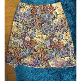 ザラ(ZARA)の本日限定お値下♡♡ QU ARTER FLASH ゴブラン織 デザイン スカート(ミニスカート)