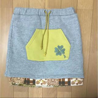 ラフアンドチープ(LAUGH & CHEAP)のLaughandcheap  120  スカート(スカート)