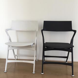 カルテル(kartell)のKartell ドリーアントニオチッテリオ デザイン 自立する椅子(ダイニングチェア)