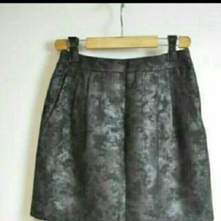 ザラ(ZARA)のコクーン スカート (ミニスカート)