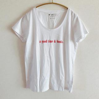 シップス(SHIPS)の新品 ロゴTシャツ(Tシャツ(半袖/袖なし))