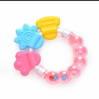 赤ちゃん おもちゃ ガラガラ 歯固め新品(がらがら/ラトル)