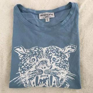 アメリカーナ(AMERICANA)のAmericana アメリカーナ タイガー Tシャツ ロゴプリント(Tシャツ(半袖/袖なし))