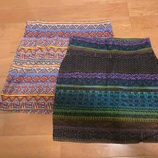ザラ(ZARA)のスカート2枚セット(ミニスカート)