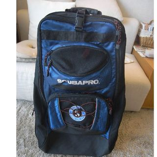 スキューバプロ(SCUBAPRO)のSCUBAPROのキャリーバック(スキューバダイビング機材用キャリーバッグ)(マリン/スイミング)