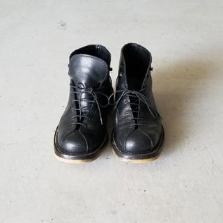 シルバノマッツァ(SILVANO MAZZA)のSilvano Mazza シルバノマッツァ モンキーブーツ  黒6.5(ブーツ)