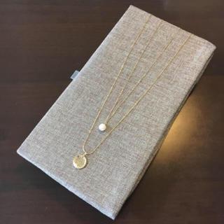 クチュールブローチ(Couture Brooch)のクチュールブローチ 二連ネックレス(ネックレス)