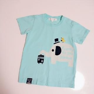 サンカンシオン(3can4on)の綿100% Tシャツ 90cm(Tシャツ/カットソー)