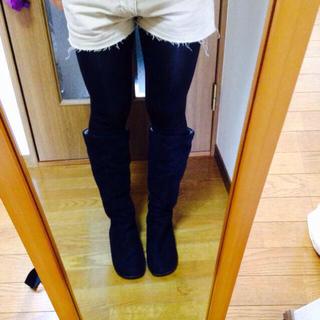 ムジルシリョウヒン(MUJI (無印良品))の足なりブーツ24.5(ブーツ)