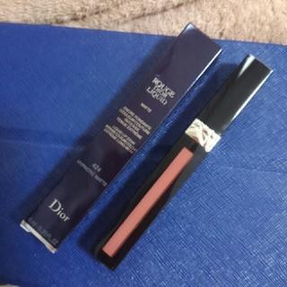 クリスチャンディオール(Christian Dior)の限定色ディオールリキッドリップカラー424(口紅)