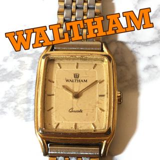 ウォルサム(Waltham)の【WALTHAM】レクタンギャラー型ケース クオーツ腕時計  WH-483(腕時計(アナログ))