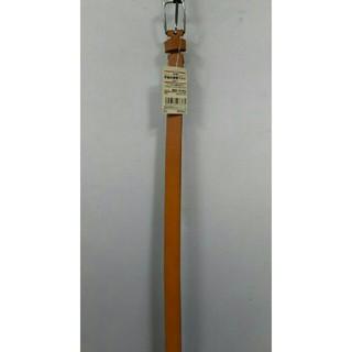 ムジルシリョウヒン(MUJI (無印良品))の新品 無印良品 手染め細帯ベルト・キャメル(ベルト)