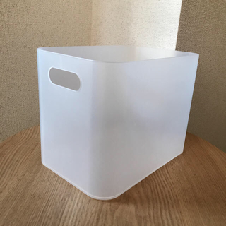 ムジルシリョウヒン(MUJI (無印良品))の専用ページ☆ポリプロピレン収納キャリー+メイクボックスセット(小物入れ)