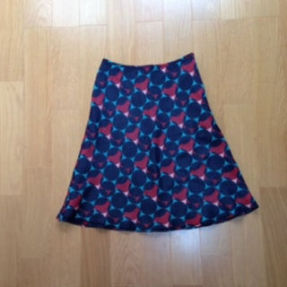 ナチュラルビューティーベーシック(NATURAL BEAUTY BASIC)のNATURAL BEAUTY BASIC マルチカラースカート(ひざ丈スカート)