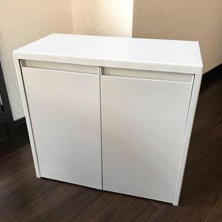 ムジルシリョウヒン(MUJI (無印良品))のポリプロピレン ゴミ箱 ハーフ&ハーフ(ごみ箱)