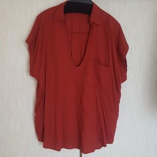 ジーユー(GU)のスキッパーシャツ(シャツ/ブラウス(半袖/袖なし))