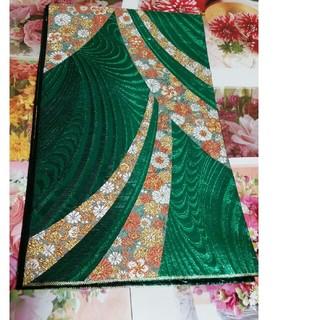 正絹、六通柄袋帯、花帯文様、金銀糸、逸品(帯)