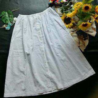 スティールエコンフォール(style+confort)の♪styleconfort♪日本製♡ガーゼ風綿スカート♪シップス♡Nikoand(ロングスカート)