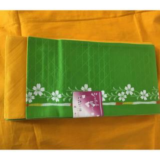 【新品】小袋 半幅帯 リバーシブル 半巾帯 日本製 ゆかた 帯 着物 袴下 袴(浴衣帯)