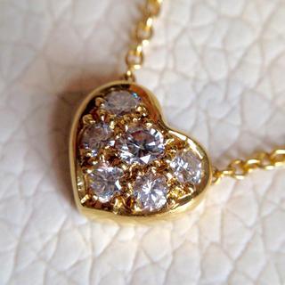 ティファニー(Tiffany & Co.)のTIFFANY ティファニー K18 ダイヤモンド ネックレス 正規品(ネックレス)