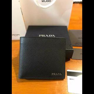 プラダ(PRADA)のPRADA メンズ 財布 新品 二つ折り(折り財布)