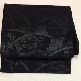 喪服 正絹 夏用帯 未使用品(帯)