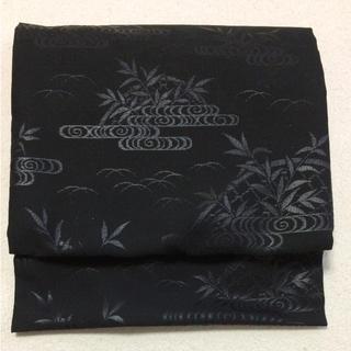 喪服用 正絹 帯 未使用品(帯)