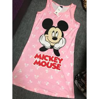 ディズニー(Disney)のミッキーマウス♡パジャマ♡ワンピース(パジャマ)