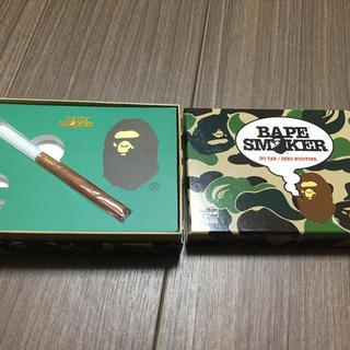 アベイシングエイプ(A BATHING APE)の新品 BAPE 電子タバコ バナナフレーバー 緑青ピンク3個セット(タバコグッズ)