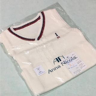 アンナニコラ(Anna Nicola)のアンナニコラ Vネックベスト 95(Tシャツ/カットソー)