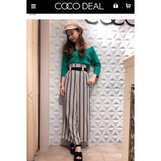 COCO DEAL - COCODEAL♡グリーン サマーニット♡